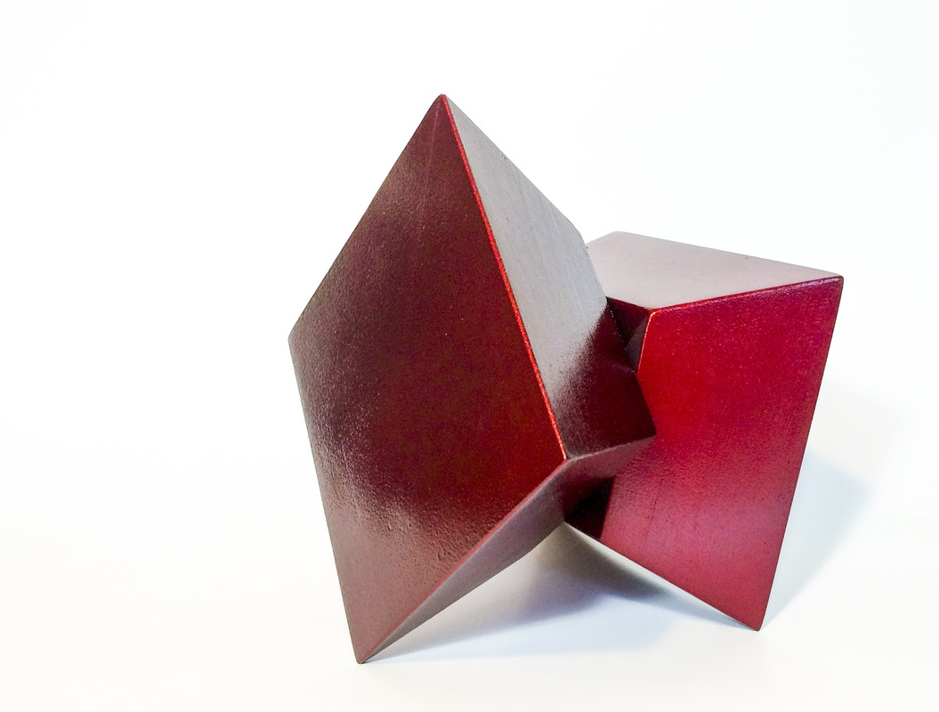 Contemporary Red Sculpture by Tim Kent Art 2016